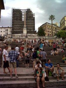 Escaleras Plaza de España